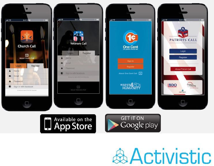 Activisitic (ASX:ACU)'s suite of products include Church Call, Veterans Call, One Cent, and Patriots Call