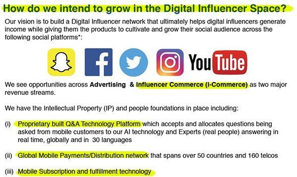 CM8's is intending to grow digital influence