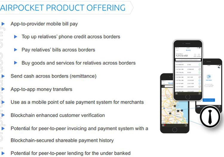 Airpocket offering