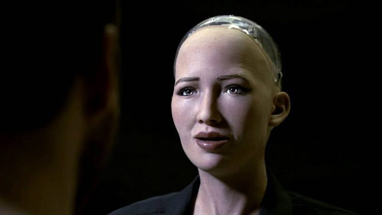 Advanced AI humanoid