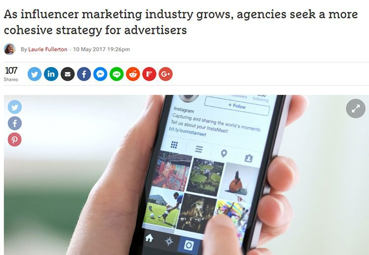 influencer marketing and advertising