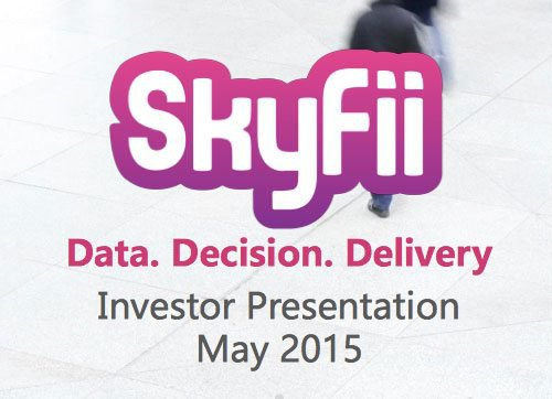 SkyFii (ASX:SKF) Investor Presentation May 2015