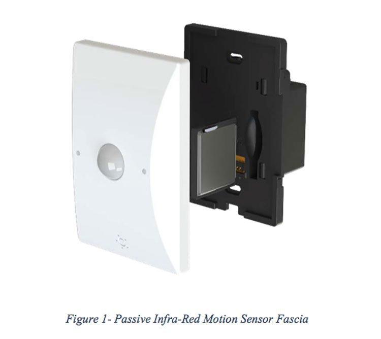 Quantify infra red sensor