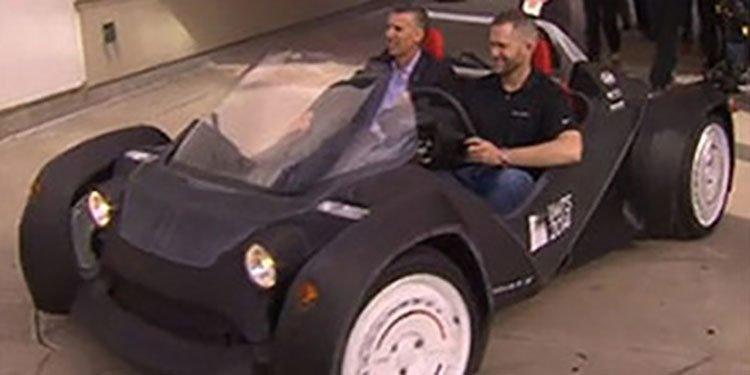 Robo 3D car