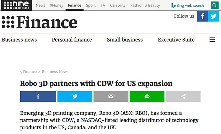 Robo partnership