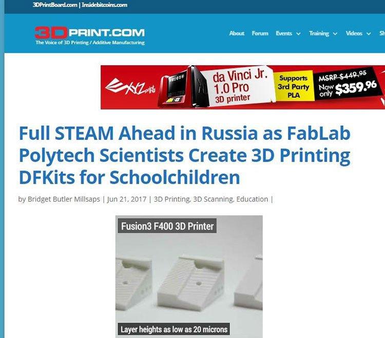 3D printing revolution