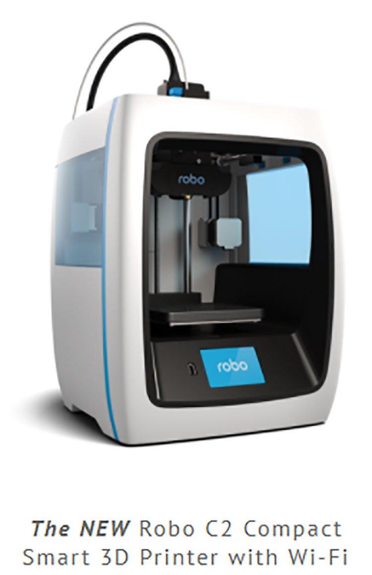 Robo C2 printer