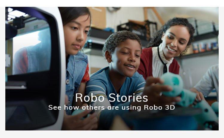 Robo 3D stories