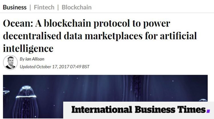 Decentralised marketplace blockchain