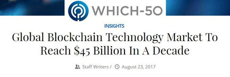 blockchain market valuation