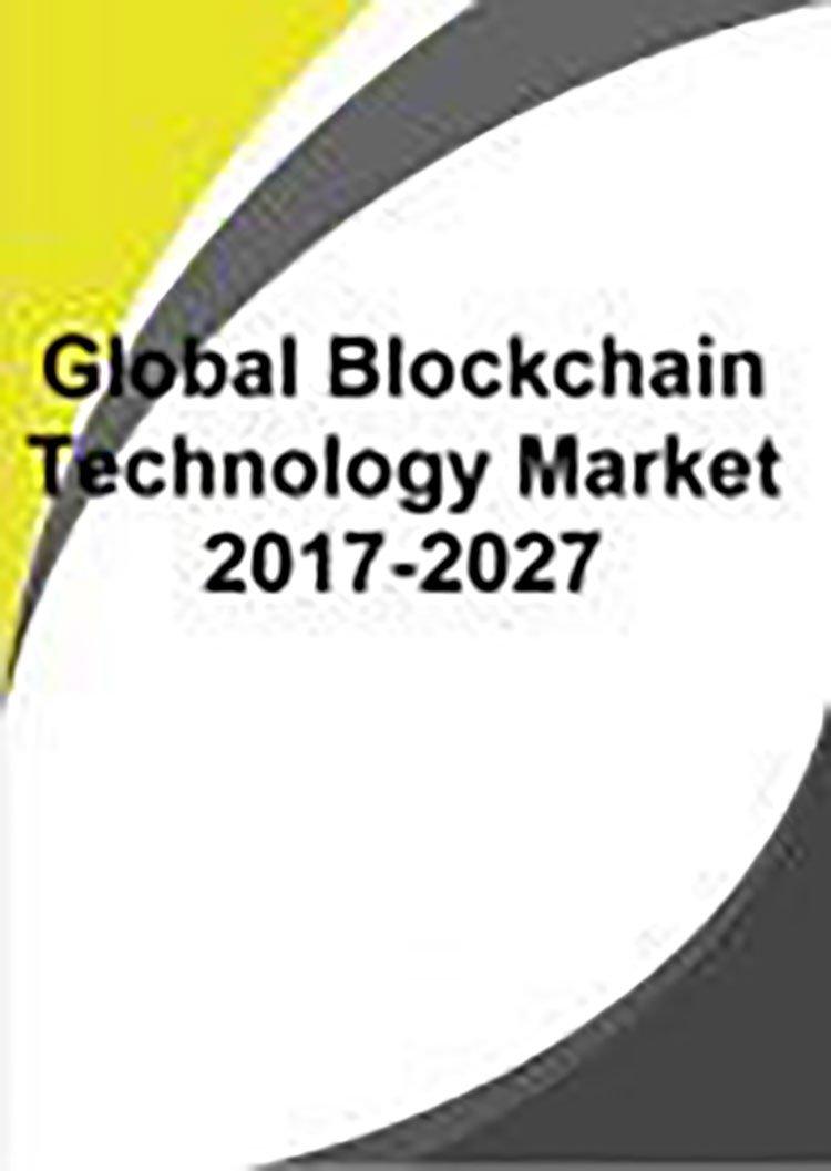 global blockchain tech market