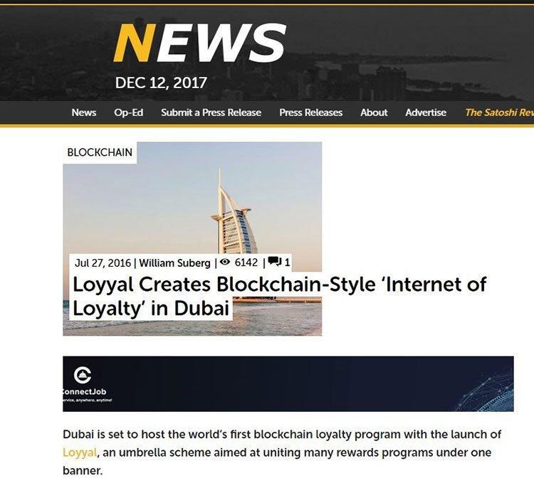 Loyyal blockchain crm