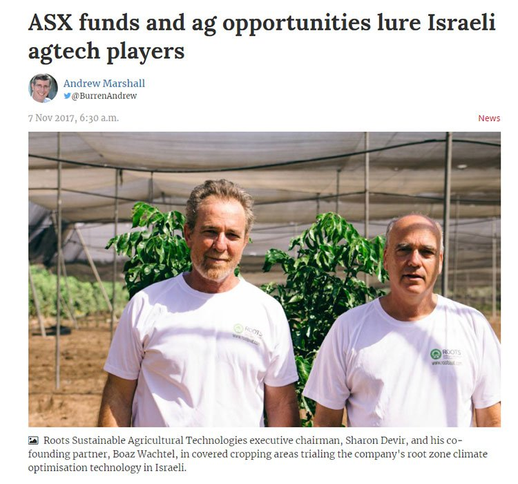 This Israeli Ag-Tech Stock Has Technology to Increase Crop