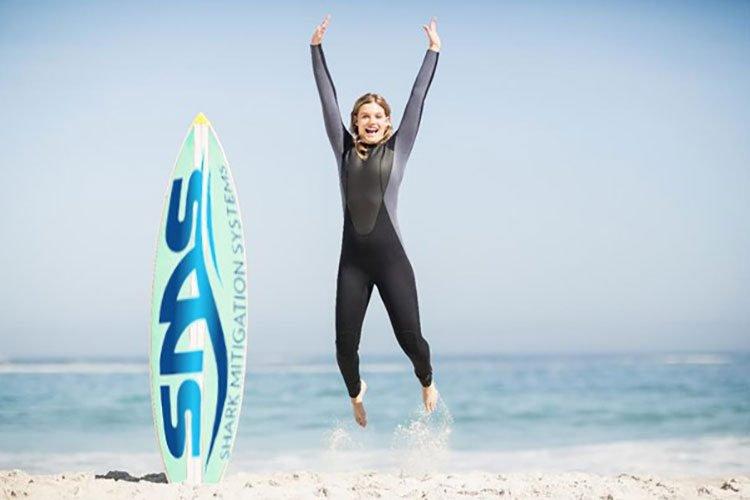 surfing sharks