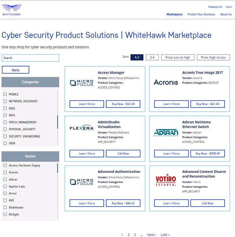 cyber security product solutions