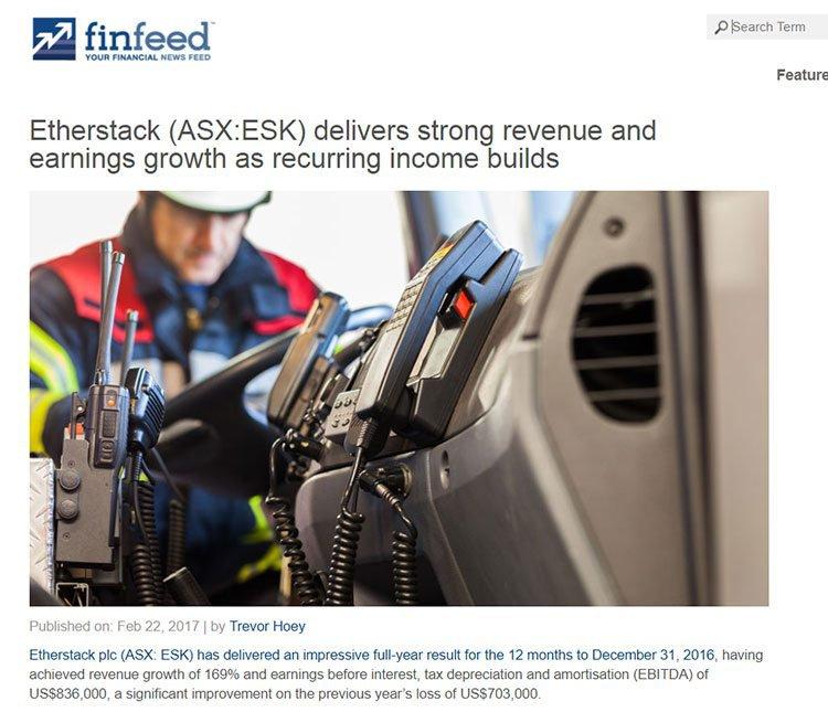 etherstack strong revenue