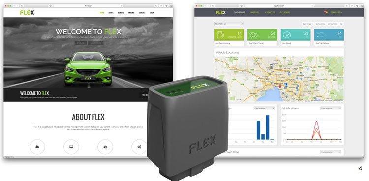 Connexion Media (ASX:CXZ)'s fleet vehicle monitoring service Flex